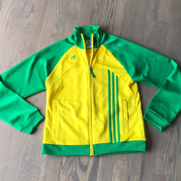 Vintage Style Adidas Track Jacket Brasil (Brazil) Track